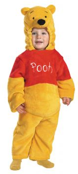 Pooh Deluxe Plush Costume - Toddler (2T)