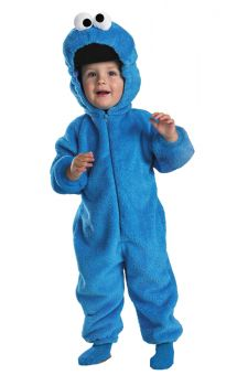 Cookie Monster Deluxe Costume - Sesame Street - Toddler (3 - 4T)