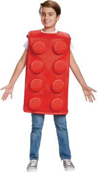 Boy's Red Brick Costume - LEGO - Child L (10 - 12)
