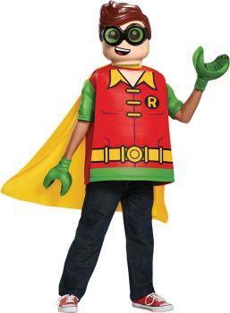 Boy's Robin Classic Costume - LEGO Batman Movie - Child L (10 - 12)