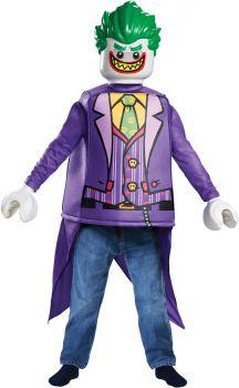 Boy's Joker Classic Costume - LEGO Batman Movie - Child L (10 - 12)