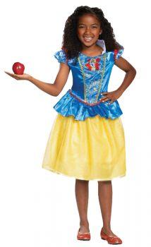 Girl's Snow White Classic Costume - Child M (7 - 8)