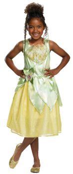 Girl's Tiana Classic Costume - Child M (7 - 8)