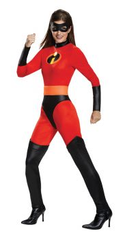 Mrs. Incredible Classic Costume - The Incredibles 2 - Adult M (8 - 10)