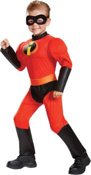 Dash Classic Muscle Toddler Costume - Toddler (3 - 4T)
