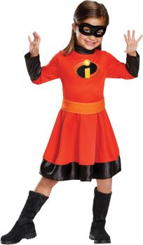 Girl's Violet Classic Costume - The Incredibles 2 - Child S (4 - 6X)