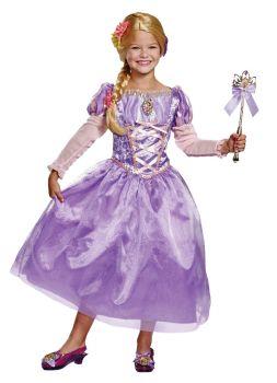 Girl's Rapunzel Deluxe Costume - Child S (4 - 6X)