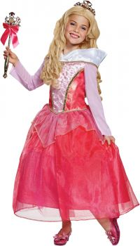 Girl's Aurora Deluxe Costume - Sleeping Beauty - Toddler (3 - 4T)