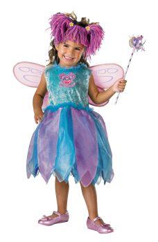 Girl's Abby Cadabby Deluxe Costume - Sesame Street - Toddler (2T)