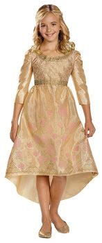 Girl's Aurora Coronation Gown Classic Costume - Maleficent Movie - Child M (7 - 8)