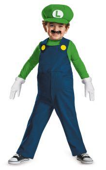 Luigi Toddler Costume - Toddler (3 - 4T)