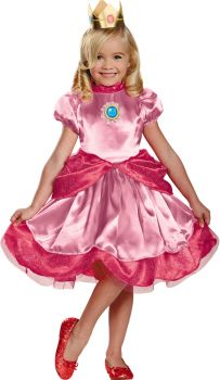 Princess Peach Deluxe Toddler Costume - Toddler (3 - 4T)