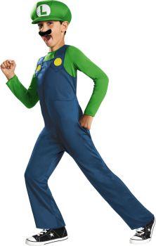 Boy's Luigi Classic Costume