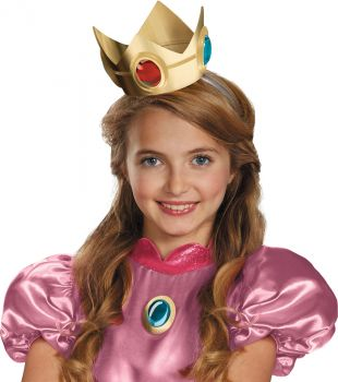 Princess Peach Crown & Amulet - Child
