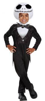 Jack Skellington Classic Toddler Costume - Toddler (12 - 18M)