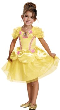 Girl's Belle Classic Costume - Beauty & The Beast - Child S (4 - 6X)