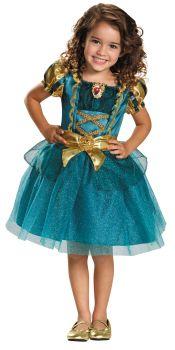 Girl's Merida Classic Costume - Brave - Child S (4 - 6X)