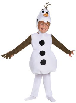 Boy's Olaf Toddler Classic Costume - Child S (4 - 6)