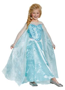 Girl's Elsa Prestige Costume - Frozen - Toddler (3 - 4T)