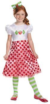 Girl's Strawberry Shortcake Classic Costume - Child S (4 - 6X)