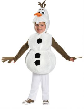 Child's Olaf Deluxe Costume - Frozen - Toddler (12 - 18M)