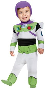 Buzz Lightyear Deluxe Infant Costume - Toddler (12 - 18M)