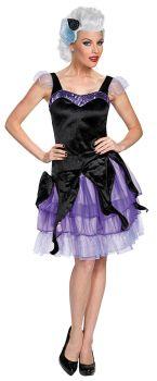 Women's Ursula Deluxe Costume - The Little Mermaid - Adult S (4 - 6)