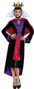 Women's Evil Queen Sparkle Deluxe Costume - Adult M (8 - 10)