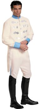 Men's Prince Charming Deluxe Costume - Cinderella Movie - Adult 2X (50 - 52)