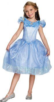 Girl's Cinderella Classic Costume - Cinderella Movie - Child L (10 - 12)