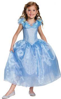 Girl's Cinderella Deluxe Costume - Cinderella Movie - Child L (10 - 12)