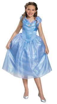 Girl's Cinderella Tween Costume - Cinderella Movie - Child L (10 - 12)