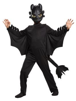 Boy's Toothless Classic Costume - Toddler (3 - 4T)