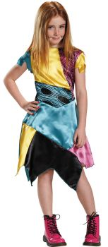 Girl's Sally Classic Costume - The Nightmare Before Christmas - Child L (10 - 12)