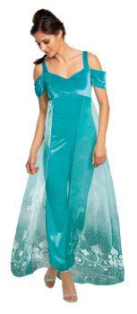 Women's Jasmine Deluxe Costume - Adult S (4 - 6)