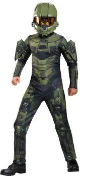 Boy's Master Chief Classic Costume - Halo - Child L (10 - 12)