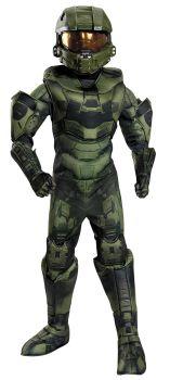 Boy's Master Chief Prestige Costume - Halo - Teen (14 - 16)