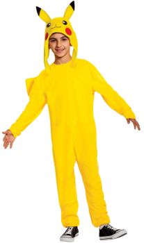 Boy's Pikachu Deluxe Costume - Child M (7 - 8)