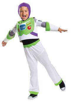 Boy's Buzz Lightyear Classic Costume - Toy Story 4 - Child M (7 - 8)