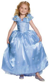 Girl's Cinderella Ultra Prestige Costume - Cinderella Movie - Child S (4 - 6X)