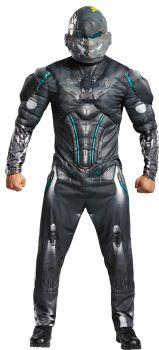 Men's Spartan Locke Muscle Costume - Halo - Adult XL (42 - 46)