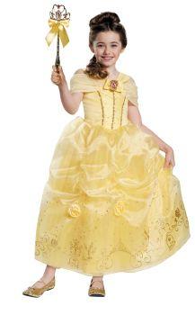 Girl's Belle Prestige Costume - Beauty & The Beast - Toddler (3 - 4T)