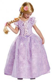 Girl's Rapunzel Ultra Prestige Costume - Child M (7 - 8)