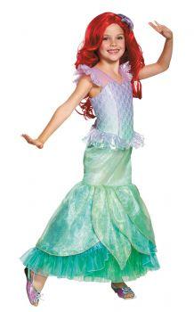 Girl's Ariel Ultra Prestige Costume - Child M (7 - 8)