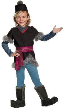 Boy's Kristoff Deluxe Costume - Child SM (4 - 6)