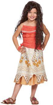 Girl's Moana Classic Costume - Moana - Child S (4 - 6X)