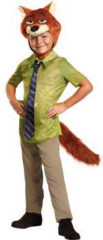 Boy's Nick Wilde Classic Costume - Zootopia - Child S (4 - 6)
