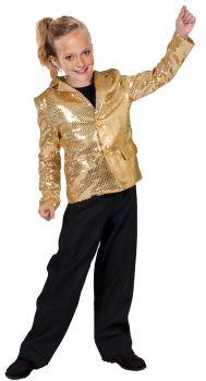 Disco Jacket Child - Gold - Child S (4 - 6)