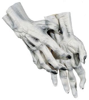 Skeleton Hands - White