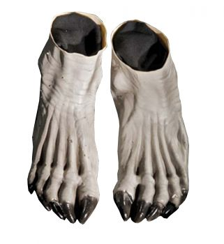 Werewolf Feet - Gray